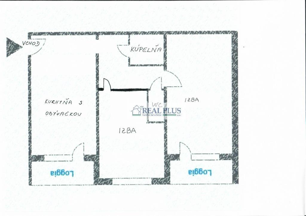 3 izb. PALÁRIKOVA č. 3, KOŠICE - JUH