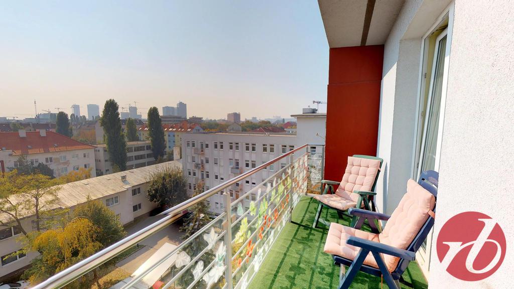 balkón z detskej