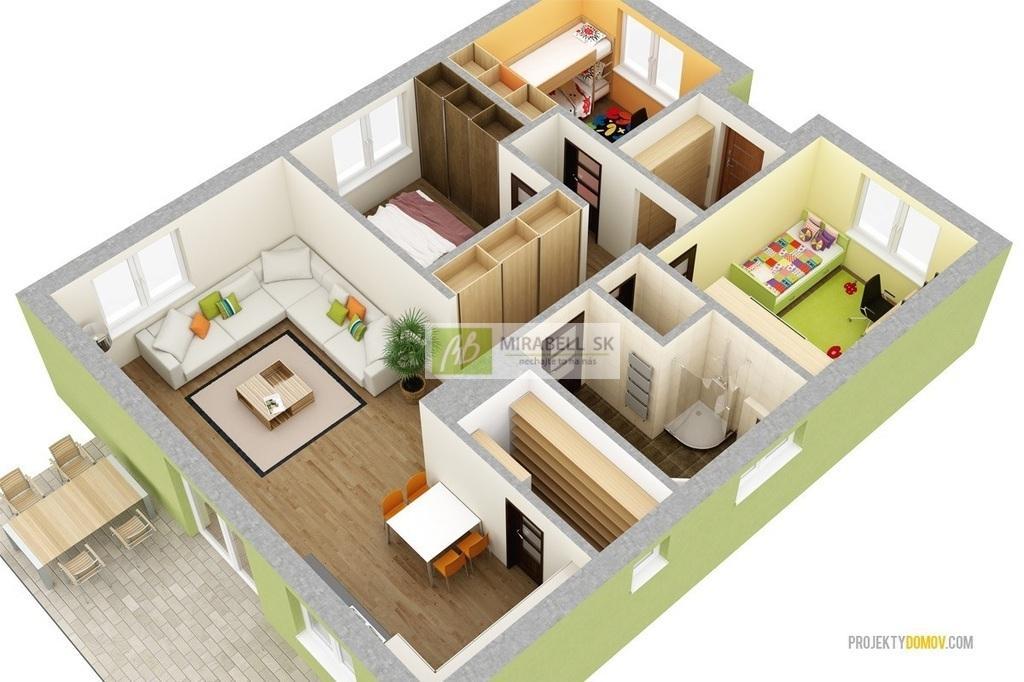 Predaj - rodinný dom - Alžbetin Dvor - MIRABELL (9)