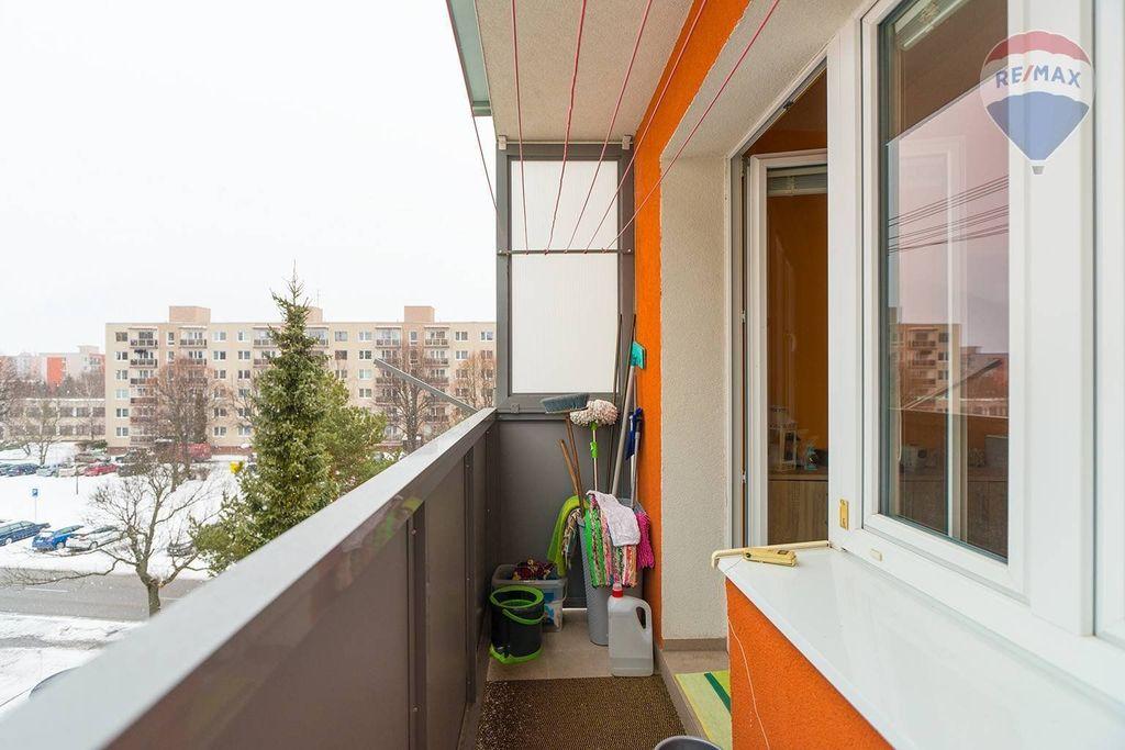 4 izbový byt Liptovský Mikuláš - balkón