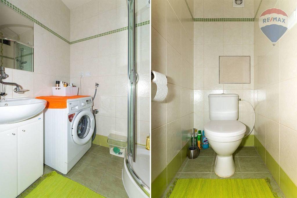 4 izbový byt Liptovský Mikuláš - kúpelňa, WC